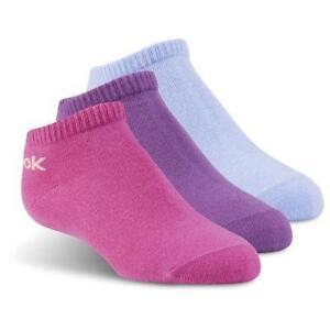 Reebok Kids No Show Sock - 3pairs