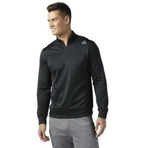 Reebok Men's Workout Ready 1/4 Zip Sweatshirt