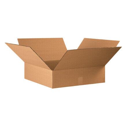 """22 x 22 x 6"""" Flat Corrugated Boxes - 15 Per Bundle"""