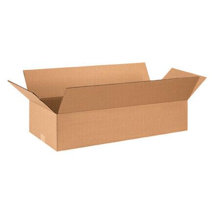 """28 x 12 x 6"""" Flat Corrugated Boxes - 25 Per Bundle"""