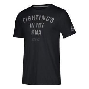 Reebok Men's Fighting Is In My DNA Short Sleeve Tee