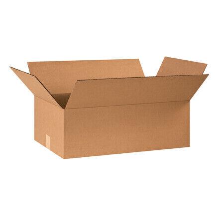 """24 x 14 x 8"""" Flat Corrugated Boxes - 20 Per Bundle"""