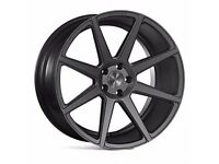 "19"" Ispiri ISR8- Gunmetal Alloy Wheels & Tyres. Suit BMW E90, E92 & F30. (5x120)"