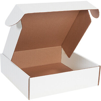 14 X 14 X 4 White Deluxe Literature Mailers Ect-32b 50case