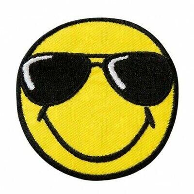 Applikationen Mono Quick  Smiley© mit Sonnenbrille farbig 1 St 14532