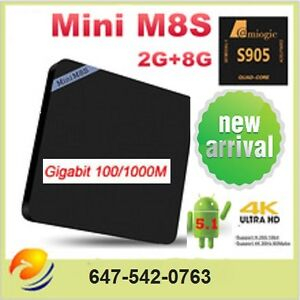 ★M8S MINI ANDROID BOX★ BEST PROGRAMING 2016 ★FREE TV & MOVIES★
