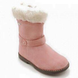 Startrite pink waterproof boots bnib size 24 uk 7