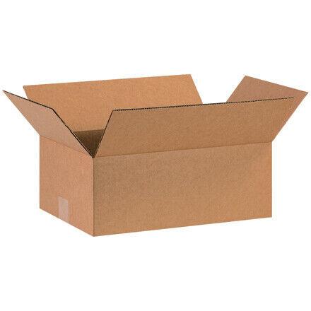 "16 x 10 x 5"" Corrugated Boxes - 25 Per Bundle"