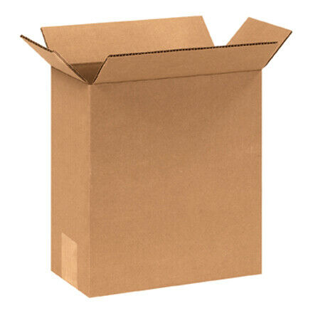 "8 x 4 x 12"" Corrugated Boxes - 25 Per Bundle"