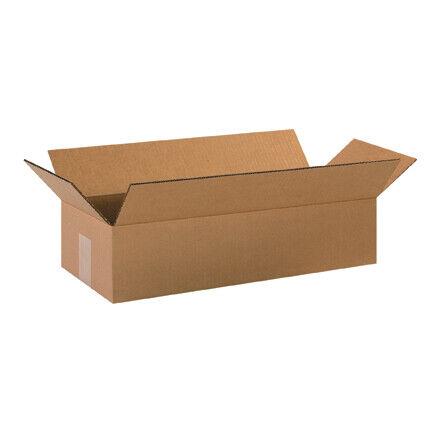 """20 x 8 x 4"""" Long Corrugated Boxes - 25 Per Bundle"""