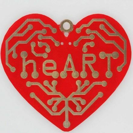 heART+-+a+beating+heart+surface+mount+soldering+kit