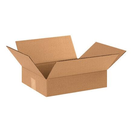 """12 x 10 x 3"""" Flat Corrugated Boxes - 25 Per Bundle"""
