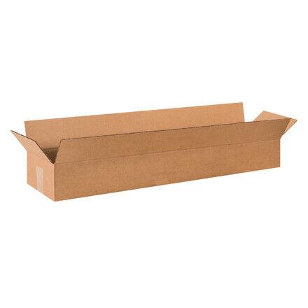 """36 x 8 x 4"""" Long Corrugated Boxes - 25 Per Bundle"""