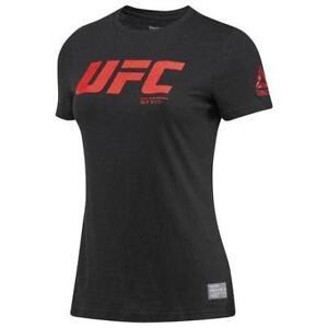 Reebok Women's UFC Ultimate Fan Logo Tee