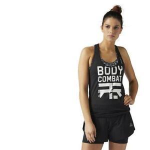 Reebok Women's LES Mills Bodycombat Racerback Tank