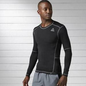 Reebok Men's Work Out Ready Compression Long Sleeve Shirt