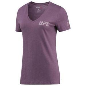 Reebok Women's UFC Fan Gear Triblend Short Sleeve Tee