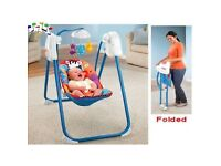 Fisher price fold away swing