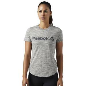 Reebok Women's Elements Logo Marble Tee