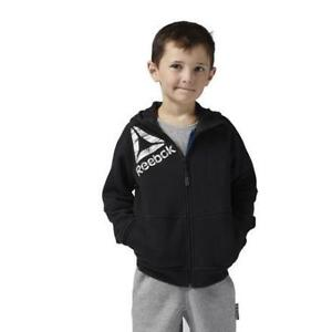 Reebok Kids Essential Full-zip Fleece Hoodie Kids