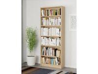3 Bookcases in birch veneer: £60 each obo