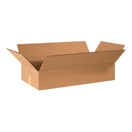 """24 x 12 x 4"""" Flat Corrugated Boxes - 25 Per Bundle"""