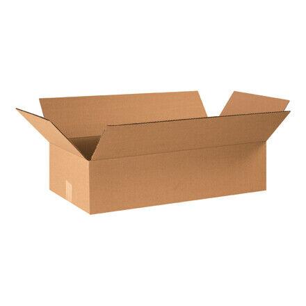 """24 x 12 x 6"""" Flat Corrugated Boxes - 20 Per Bundle"""