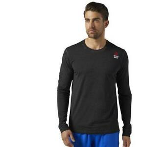 Reebok Men's Reebok Crossfit Long Sleeve Tee