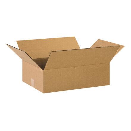 """22 x 12 x 6"""" Flat Corrugated Boxes - 25 Per Bundle"""