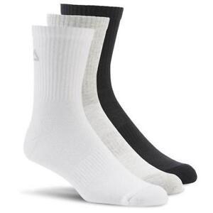 Reebok Sport Essentials Mid Crew Socks - 3 Pairs