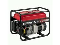 Honda ECM 2800 generator