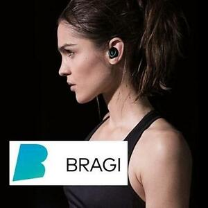 NEW BRAGI WIRELESS SMART EARPHONES BLACK - IN EAR - TRULY WIRELESS SMART EARPHONES - HEADPHONES - MUSIC - FITNESS