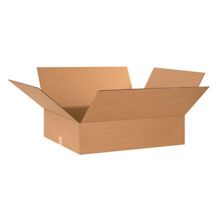 """24 x 24 x 8"""" Flat Corrugated Boxes - 10 Per Bundle"""