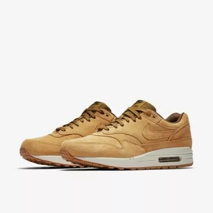 huge discount 6d639 918b9 Nike Air Max 1 (One) Leather Premium – Tan   Wheat - UK Size 10 Brand New  in Box