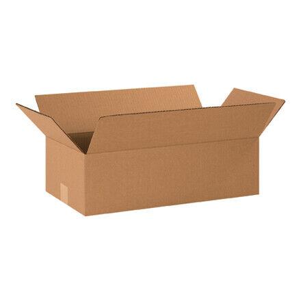 """20 x 10 x 6"""" Long Corrugated Boxes - 25 Per Bundle"""
