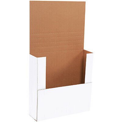14 X 14 X 4 White Easy-fold Mailers Ect-32b 50case