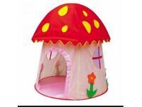 Mushroom play tent for kids