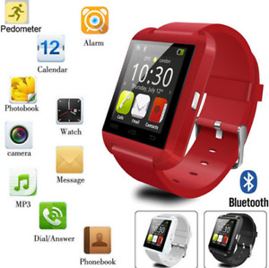 Bluetooth Smart Watch Color RED