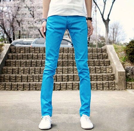 Colored Slim, Skinny Jeans for Men | eBay