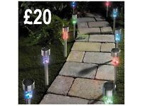 Indoor and outdoor lights for garden or house