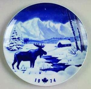 Rare Collection of Hutschenreuther Porcelain Plates
