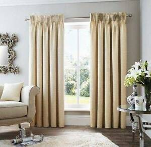 New Pencil Pleat Curtains L 221cm W 220cm Chatswood Willoughby Area Preview