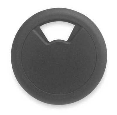 MASTER CASTER 00203 Grommet,Desk,3 1/8 In Dia,1 1/8 In H,Blk Master Caster Grommet