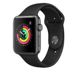 Apple Watch Series 3 (GPS) 42mm Space Grey Aluminium MQL12CL/A - WE SHIP EVERYWHERE IN CANADA ! - BESTCOST.CA