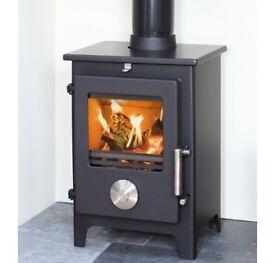 Mendip 5 Multifuel Woodburner Stove NEW