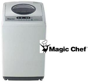 NEW* MAGIC CHEF 2.1 CU.FT. WASHER TOP LOAD - WHITE - STAINLESS STEEL TUB WASHING MACHINE COMPACT PORTABLE APPLIANCE
