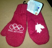 3 Pair of Canada Olympic Mittens