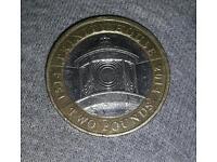 Trinity house rare £2 faulty coin.