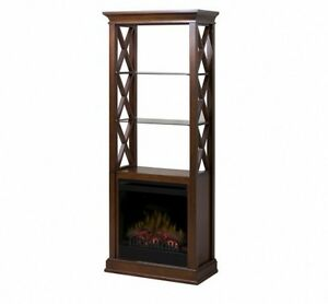 Dimplex Fireplace/Etagere-Brand New in Boxes, Never Used