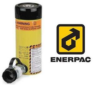 "NEW ENERPAC HYDRAULIC CYLINDER - 118019424 - Single-Acting Hollow-Plunger, 12 Ton Capacity, Single Port, 3.00"" Stroke..."